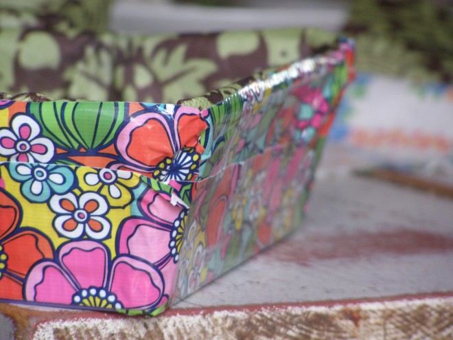 this is floral printed duct tape: crafty sensation of the American 'tweener girl world